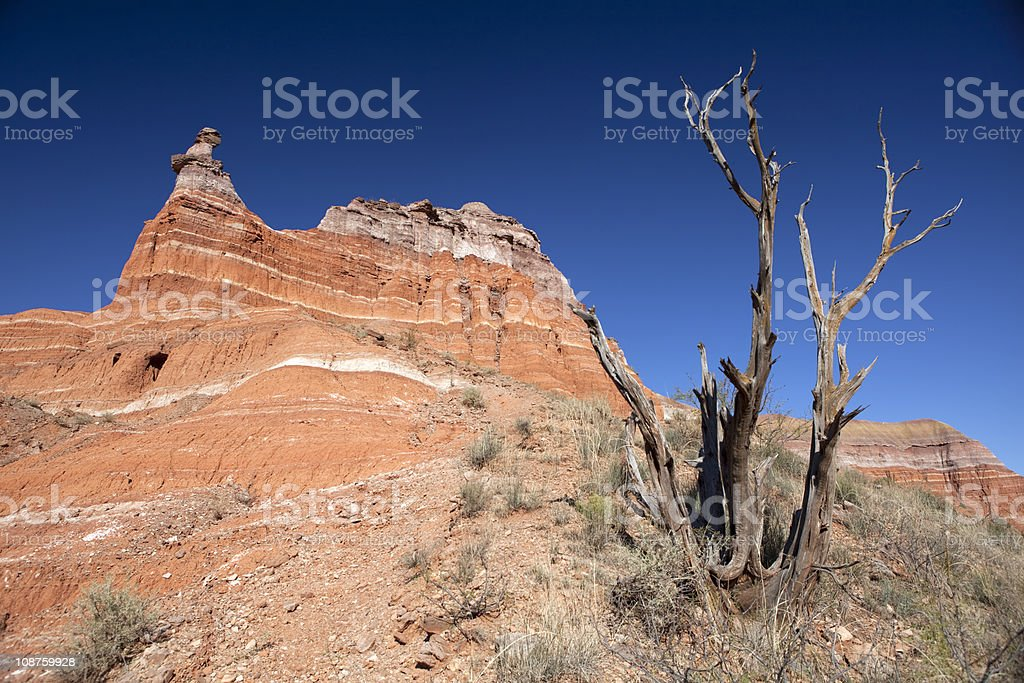 Palo Duro Canyon. royalty-free stock photo