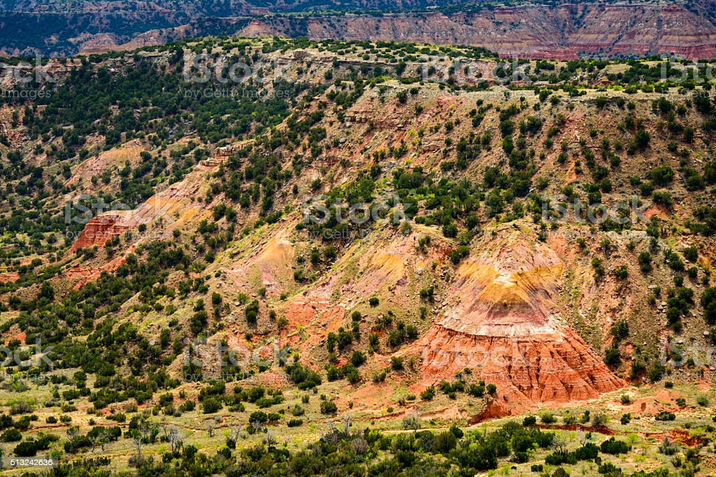 Palo Duro Canyon State Park stock photo