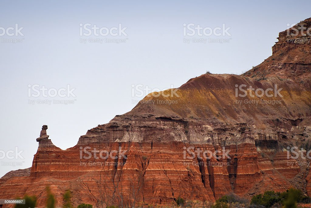 Palo Duro Canyon, Texas stock photo