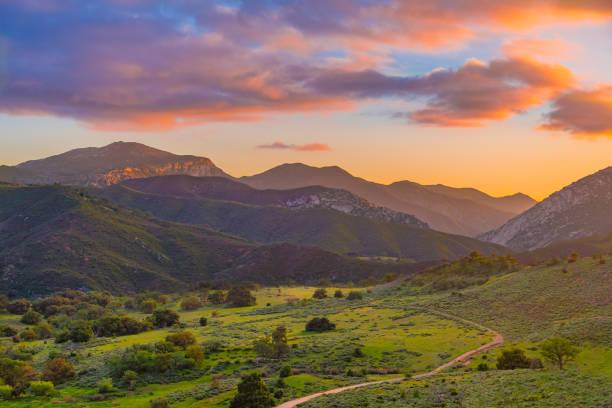 Palomar mountain valley glows in sunset picture id817677844?b=1&k=6&m=817677844&s=612x612&w=0&h=q 5pb4uphlnnlw3mjyyxqg4d2jzxsu66uzvayqffeka=