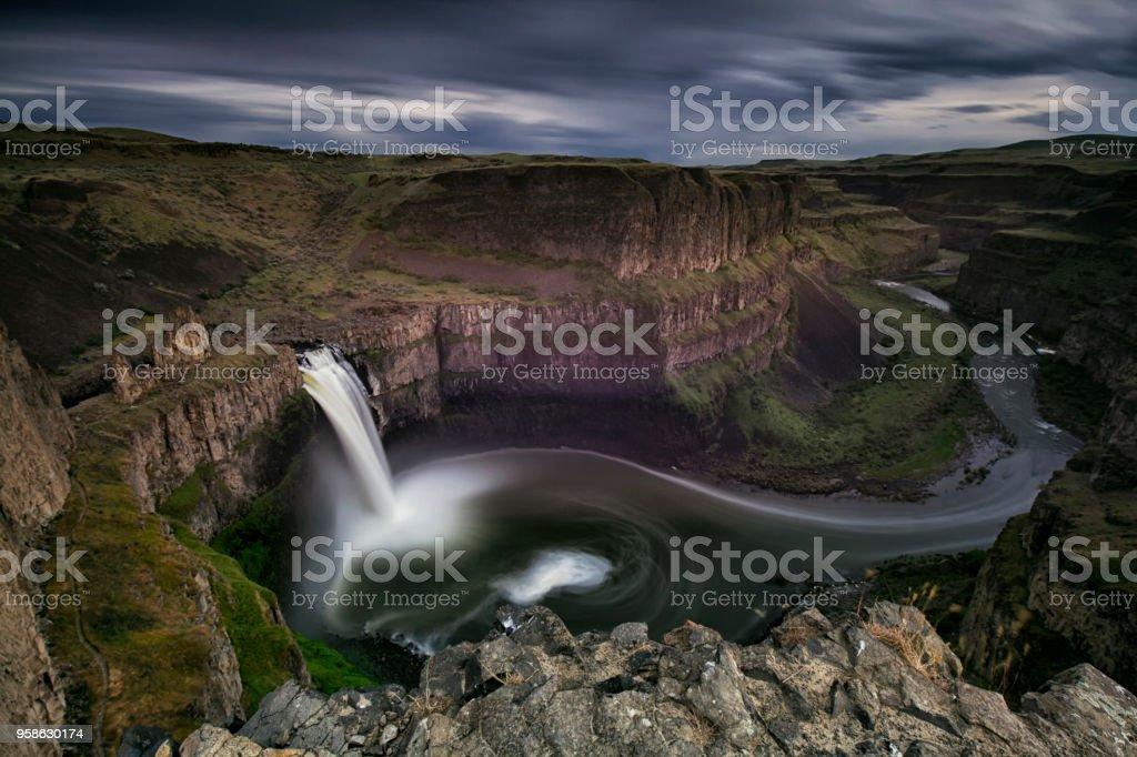 Palouse Falls, WA, USA stock photo