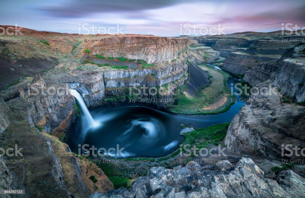 Palouse Falls, Washington stock photo