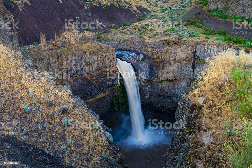 Palouse falls, Washington state stock photo