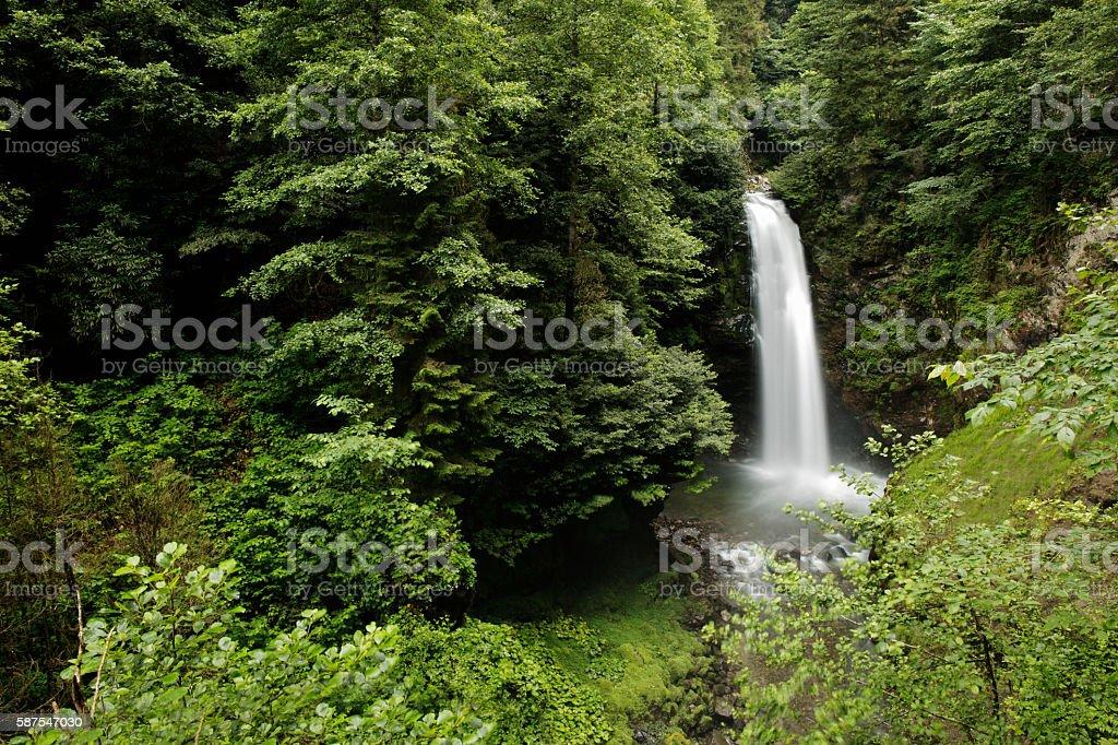 Palovit Falls Camlihemsin Rize, Turkey, View stock photo