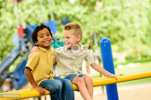 istock Pals on the Playground 187031918