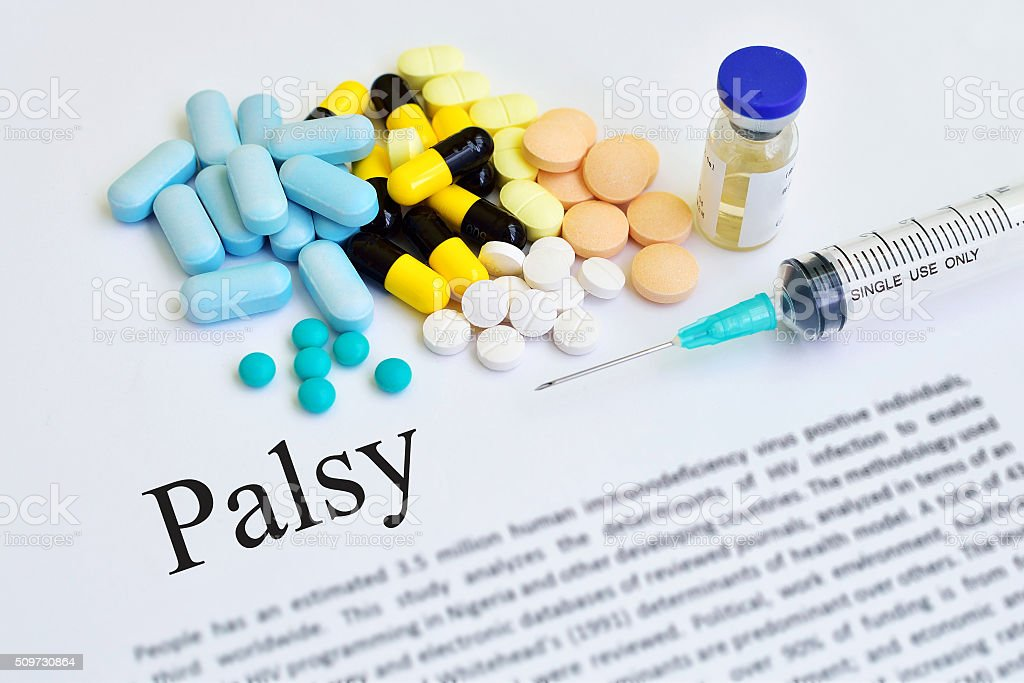 Palsy treatment stock photo