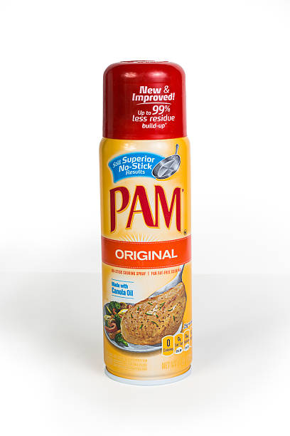 Pam Cooking Oil stock photo