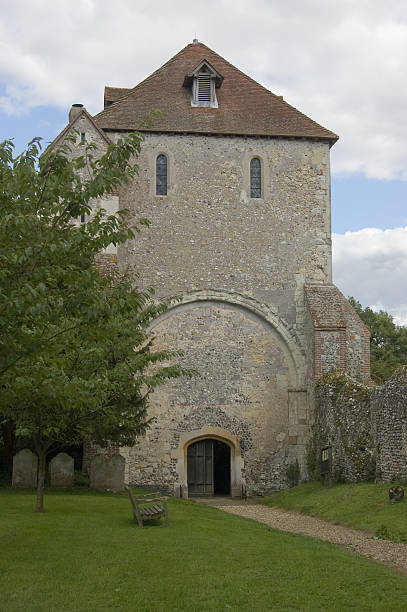 Pamber Priory, Basingstoke stock photo