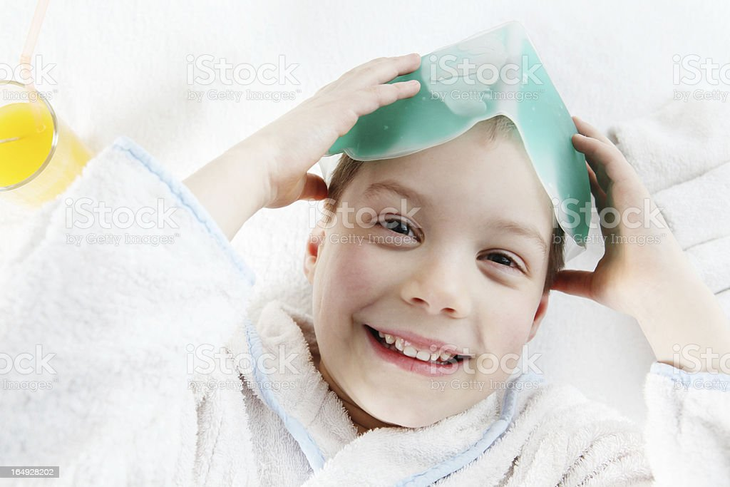 pampered kid royalty-free stock photo