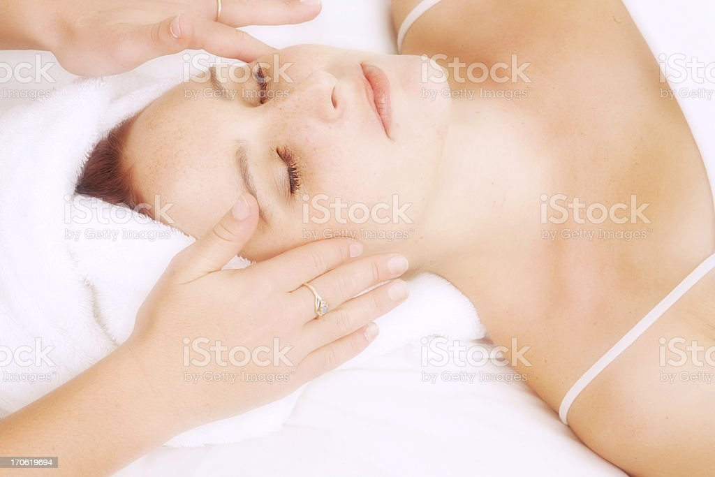 Pampered royalty-free stock photo