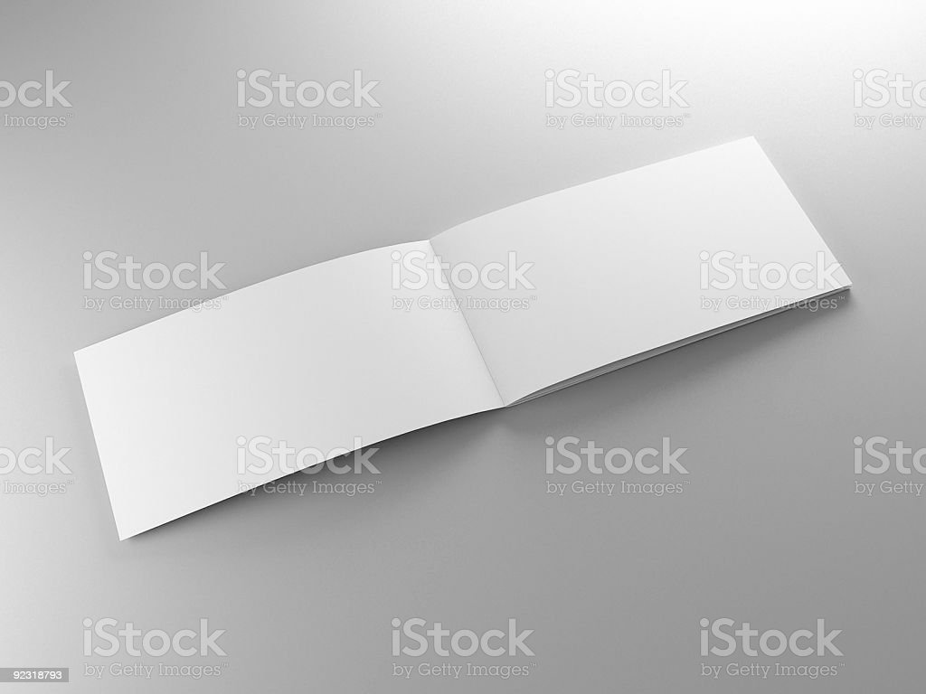 pamphlet template stock photo
