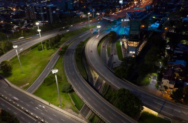Panamerikanische Autobahn in Buenos Aires – Foto