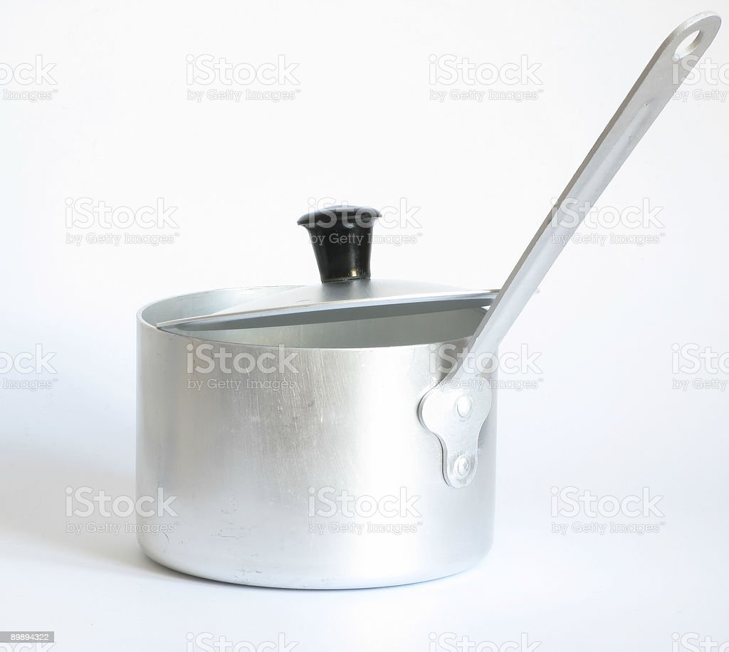 pan with lid royalty-free stock photo