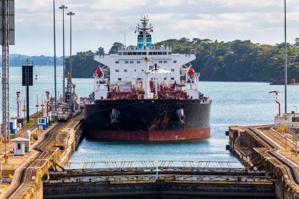 Panamakanal Gatun Schleusen – Foto