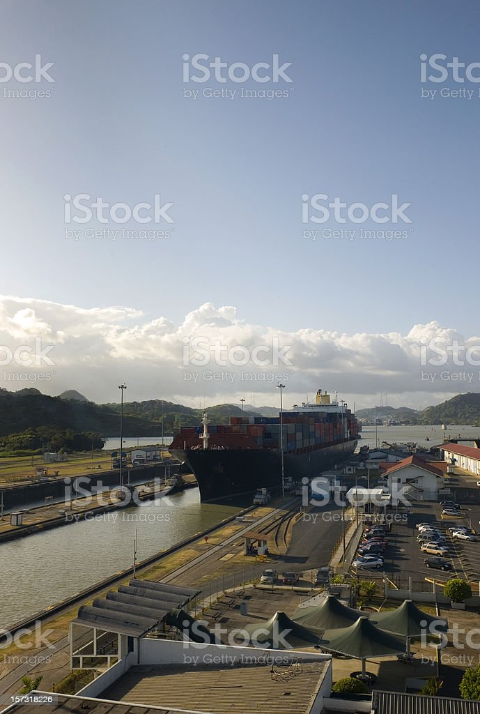 Panama Canal royalty-free stock photo