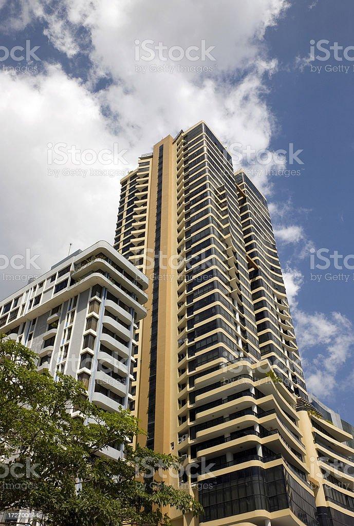 Panama City Condos royalty-free stock photo