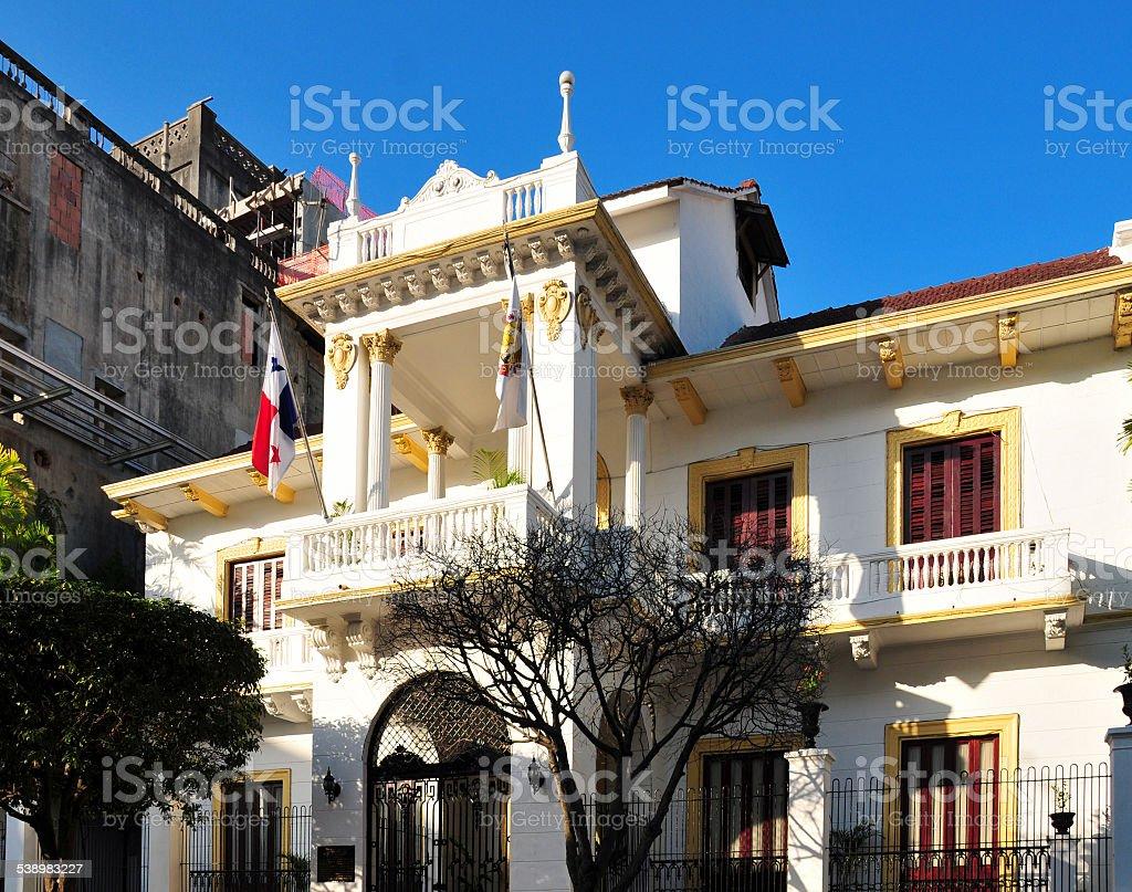 Cidade do Panamá-casa do Município - foto de acervo