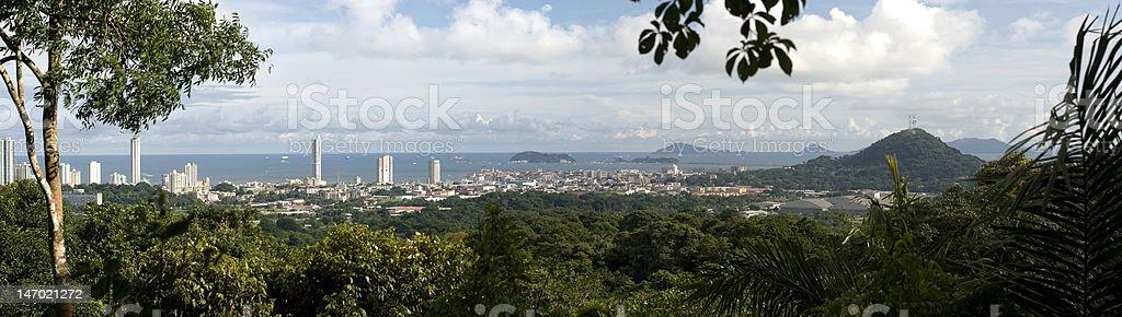 Panama City royalty-free stock photo