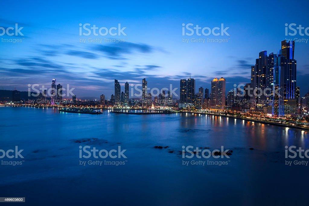 Panama City stock photo