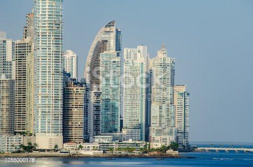 Buidlings of Punta Paitilla in Panama City