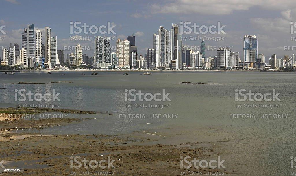 Panama City skyline royalty-free stock photo