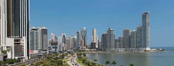Panama City skyline stock photo