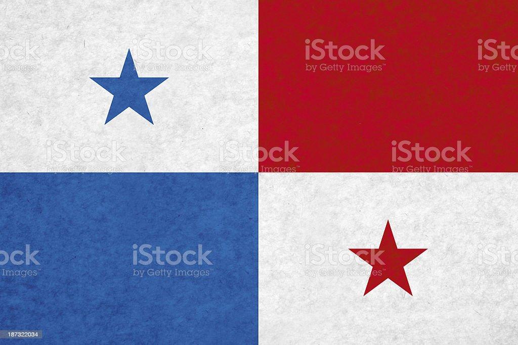 Bandeira do Panamá - foto de acervo