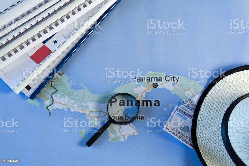 Panama papers stock photo