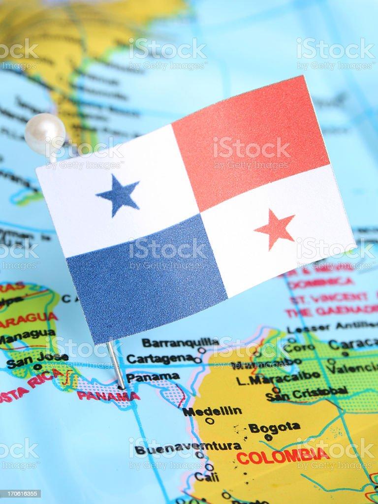 Do Panamá - foto de acervo