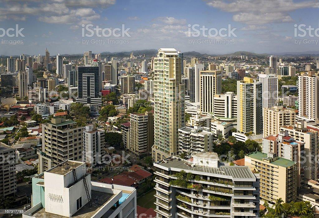 Panama View royalty-free stock photo