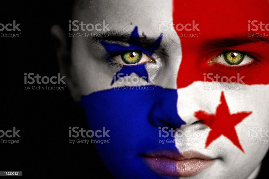 Panamenho menino - foto de acervo