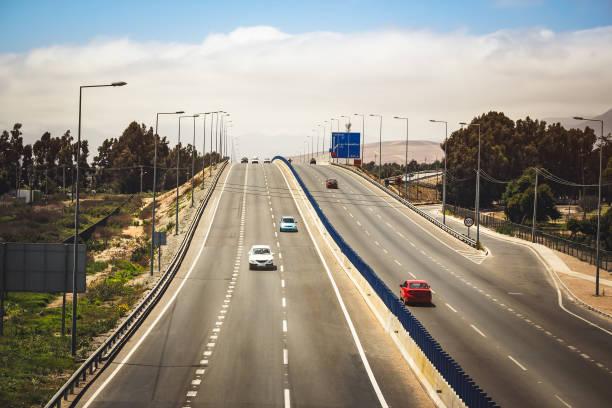 Pan-American Highway stock photo