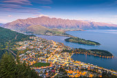 istock Panaramic view of famaus place at south island Queenstown 667070236