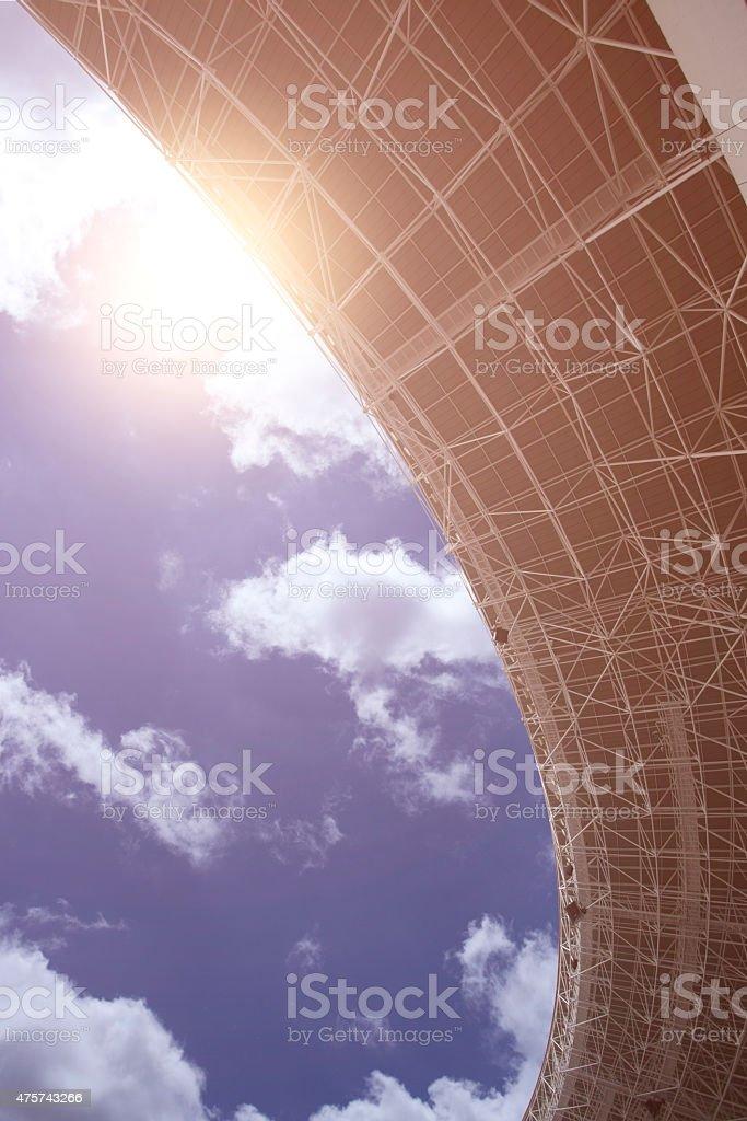panaromic view of stadium stock photo