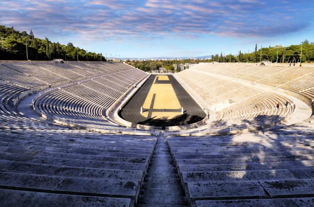 Panathenaic Stadium - Kallimarmaro ist ein Mehrzweckstadion in Athen, Griechenland – Foto