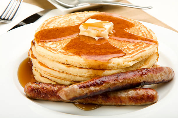 3,507 Pancakes And Sausage Stock Photos, Pictures & Royalty-Free Images -  iStock