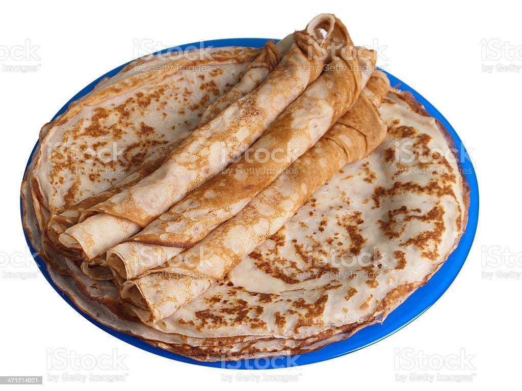Pancake food royalty-free stock photo