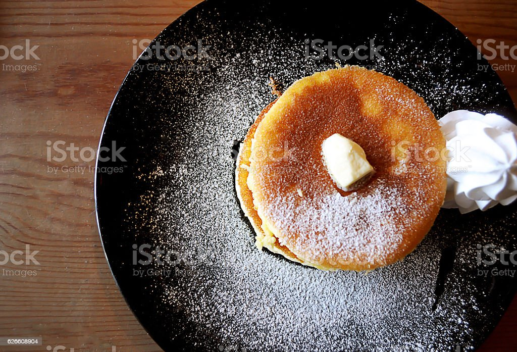 Pancake stock photo