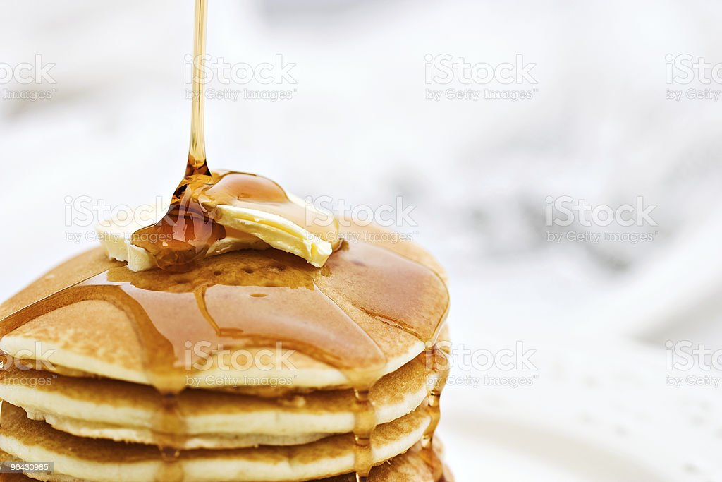 Pancakes stock photo