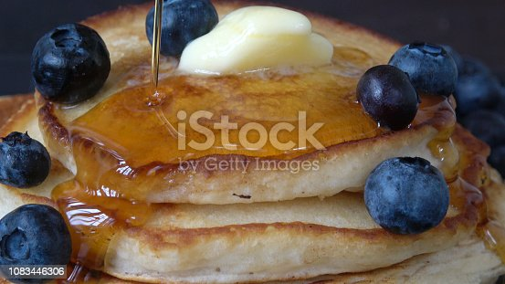 Close-up macro food photography