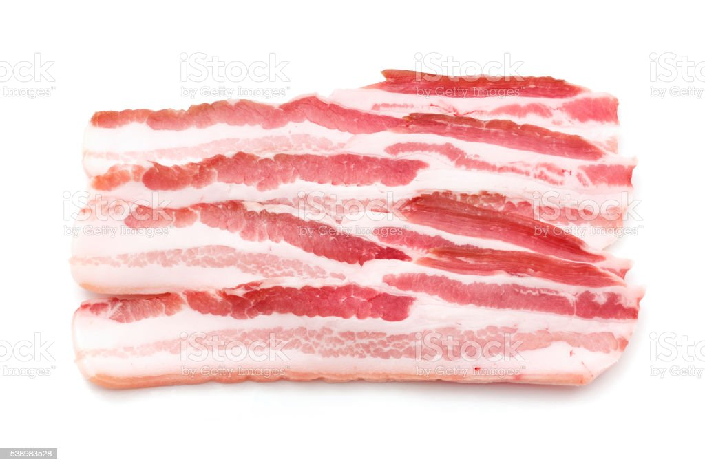 Pancetta stock photo