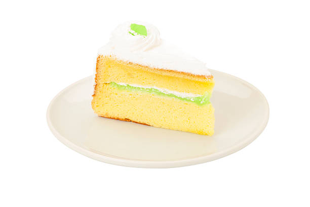pandan-blatt cake - tarte und törtchen stock-fotos und bilder