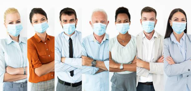 Pandemic Covid-19 or Corona Virus Situation stock photo