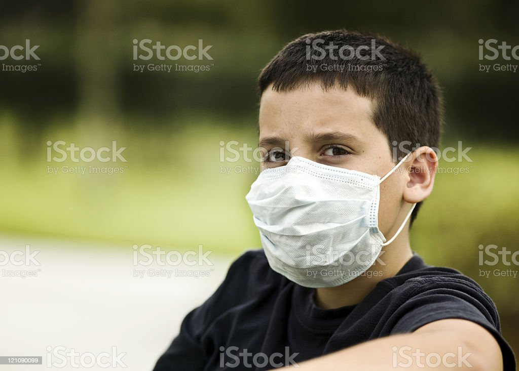 Pandemic times stock photo