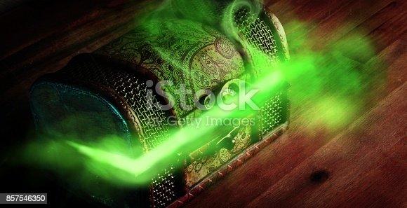 istock pandora's box with smoke 857546350