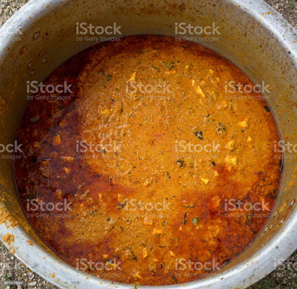 Paneer Vegetable stock photo