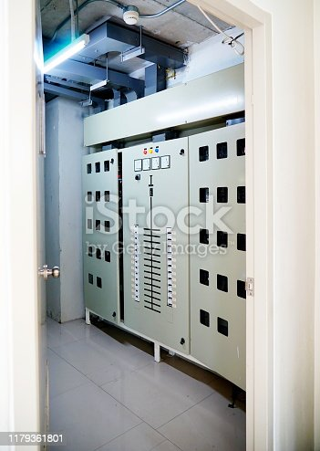 Electricity, Control Panel, Power Line, Industry, Control