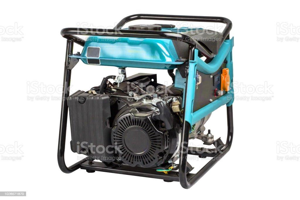Panel portable electric generator. stock photo