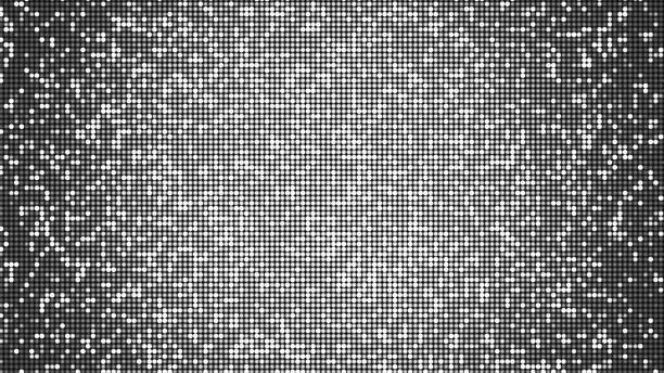 LED-Panel-ähnliche Party, Disco und Feier Hintergrund - alpha Overlay - digital generiertes Bild – Foto