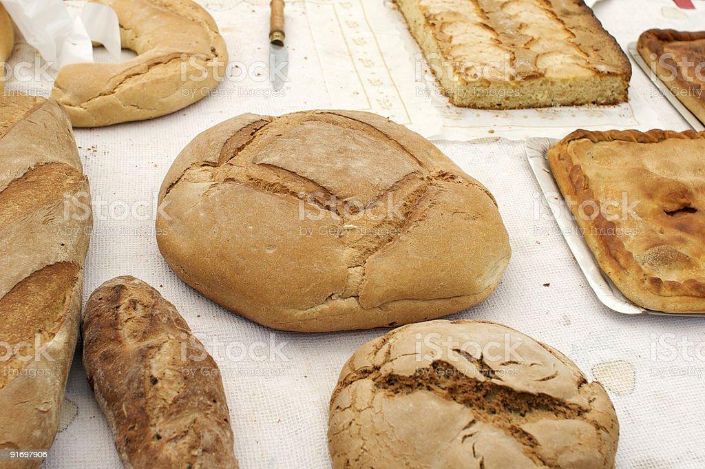 Pan,empanada,pasteles y mas.. royalty-free stock photo